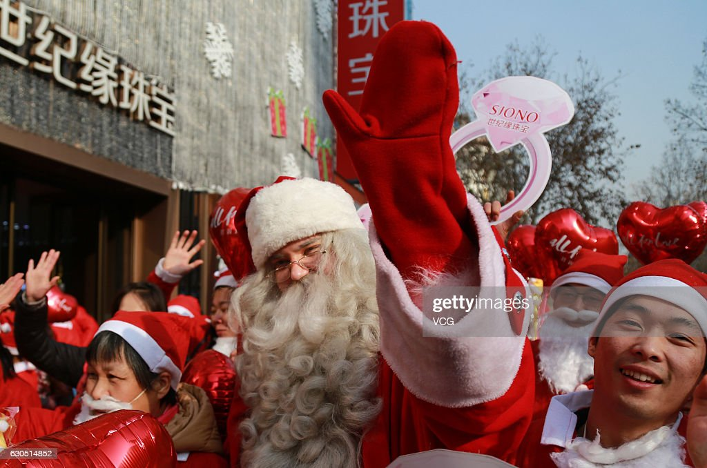 The Christmas Clause.Finnish Santa Clause And Citizens Participant In The