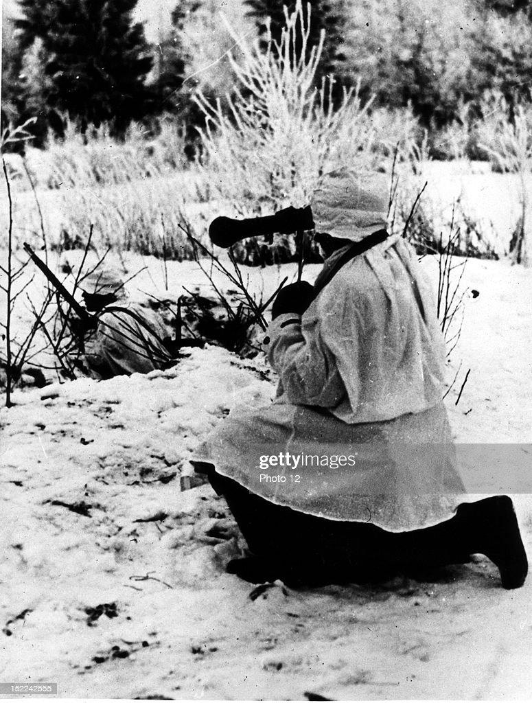 Finnish soldier World War II, Russo-Finnish War, Washington