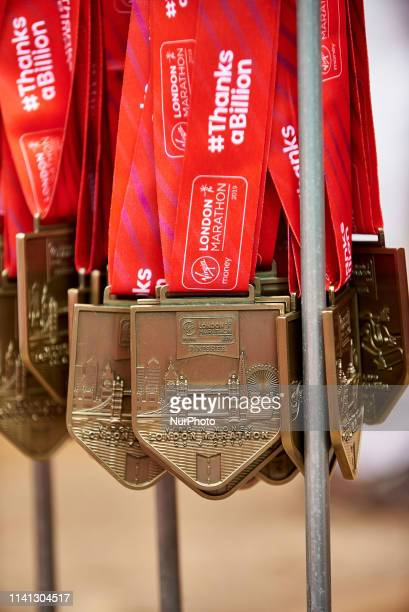 Finnisher Medals on April 28 2019 London England