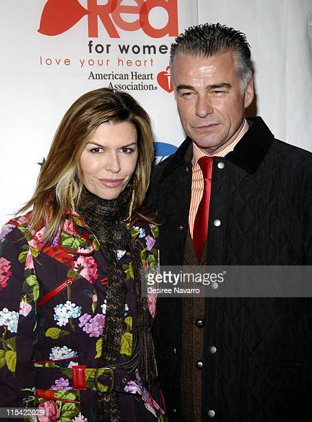 Finola Hughes and Ian Buchanan during Sigourney Weaver Hosts Rhapsody In Red Celebrating How Women 'Go Red' at New York Public Library in New York...