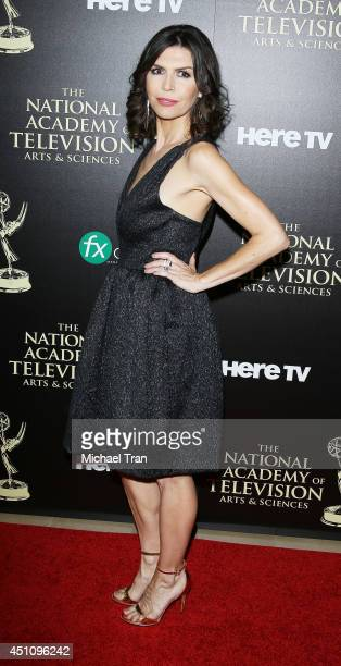 Finola Hughes arrives at the 41st Annual Daytime Emmy Awards held at The Beverly Hilton Hotel on June 22 2014 in Beverly Hills California