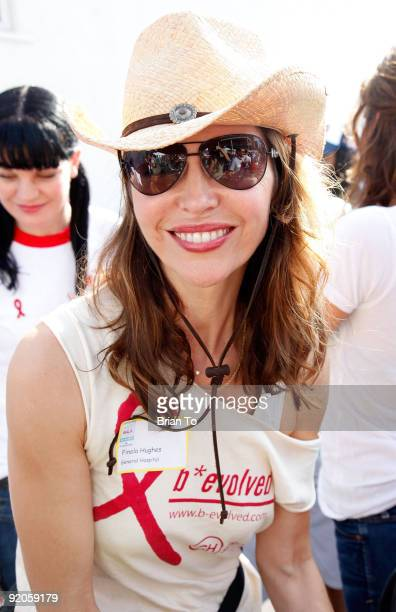 Finola Hughes attends 25th Annual AIDS Walk Los Angeles on October 18 2009 in West Hollywood California