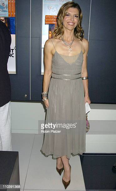 Finola Hughes during Finola Hughes Book Party for New Book 'Soapsuds' Hosted by Kelly Ripa June 14 2005 at The Montblanc Global Flagship Boutique in...