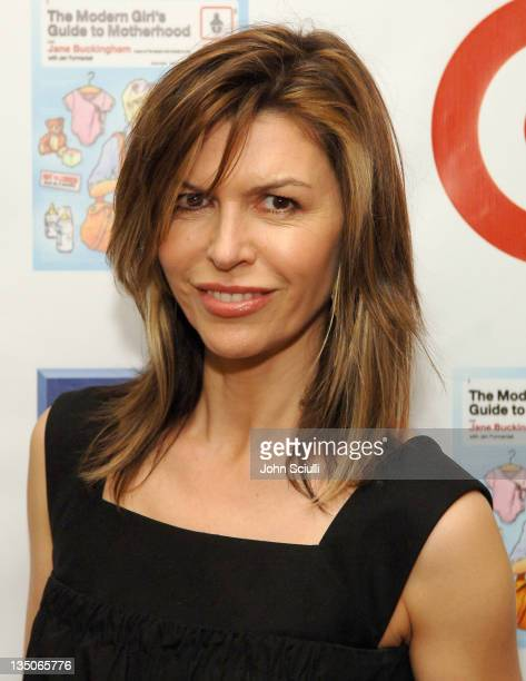 Finola Hughes during Target Celebrates Author Jane Buckingham's 'The Modern Girl's Guide to Motherhood' at Regent Beverly Wilshire Hotel in Beverly...