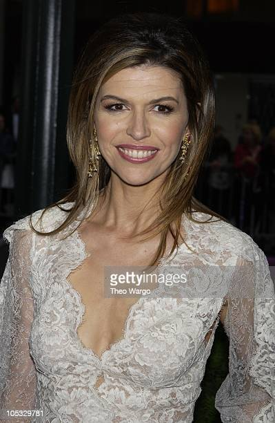 Finola Hughes during The 29th Annual Daytime Emmy AwardsArrivals at Madison Square Garden in New York City New York United States