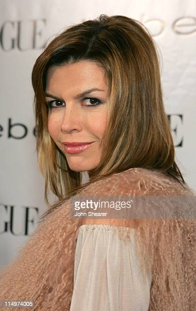 Finola Hughes during Vogue Hosts Beverly Hills Bebe Store Opening Arrivals at Bebe in Beverly Hills California United States Photo by John...