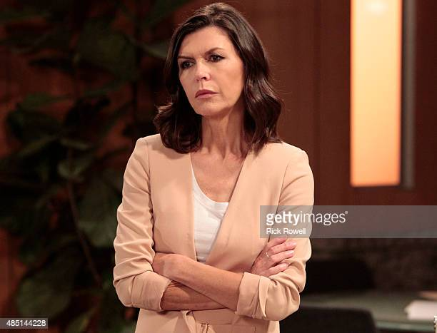 HOSPITAL Finola Hughes in a scene that airs the week of September 7 2015 on Walt Disney Television via Getty Images's General Hospital The...