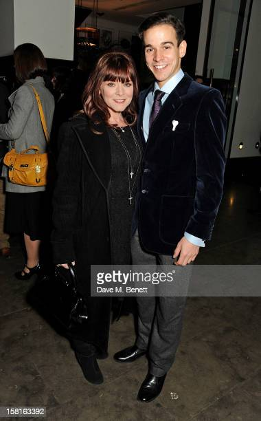 Finty Williams and cast member Joseph Timms attend an after party celebrating the press night performance of the Michael Grandage Company's debut...