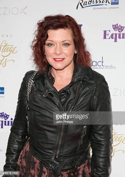 Finty Williams attends the Launch Party for the 16th annual Whatsonstage Awards at Cafe de Paris on December 3, 2015 in London, England.