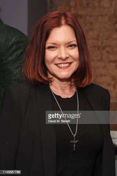 "Finty Williams attends the press night performance of ""The Last Temptation Of Boris Johnson"" at The Park Theatre on May 13, 2019 in London, England."