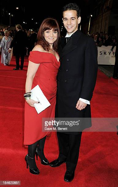 Finty Williams attends the Royal World Premiere of 'Skyfall' at the Royal Albert Hall on October 23 2012 in London England