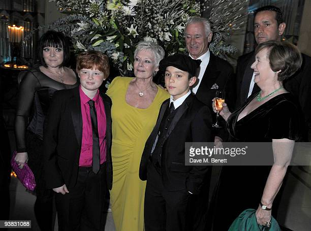 Finty Williams Dame Judi Dench and familyattends the 'Nine' world film premiere after party at the Odeon Leicester Square on December 3 2009 in...
