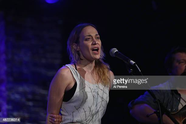 Fiona Apple joins the Watkins Family Hour when they perform at City Winery on July 28 2015 in New York City
