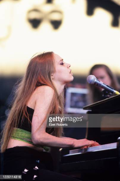 Fiona Apple performing at the Lilith Fair at Jones Beach in Wantagh Long Island, New York on July 25, 1997.