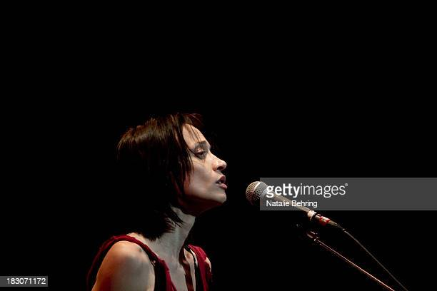 Fiona Apple performs at Newmark Theater on October 3 2013 in Portland Oregon