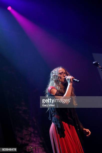 Fiona Apple performs during the 36th Annual Austin Music Awards at ACL Live on February 28 2018 in Austin Texas