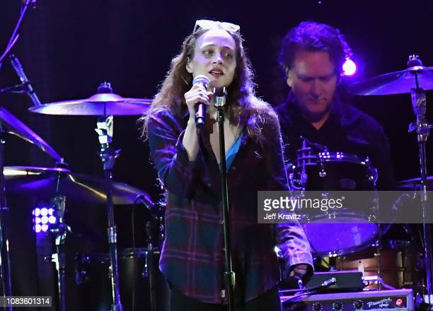 Fiona Apple performs onstage during I Am the Highway A Tribute to Chris Cornell on January 16 2019 in Inglewood California