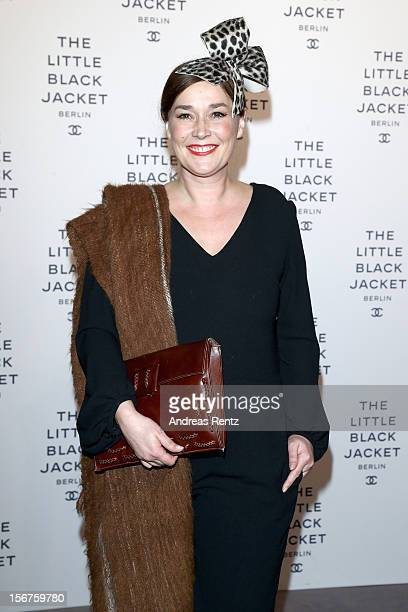Fiona Bennett attends CHANEL 'The Little Black Jacket' Exhibition Opening by Karl Lagerfeld and Carine Roitfeld on November 20 2012 in Berlin Germany