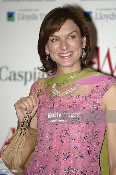 Fiona Bruce during The Asian Women of Achievement Awards – Arrivals at London Hilton on Park Lane in London Great Britain