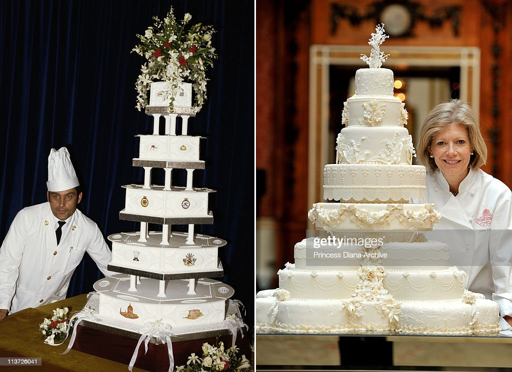 made princess diana wedding cake in this composite image a comparison has been made between 16976