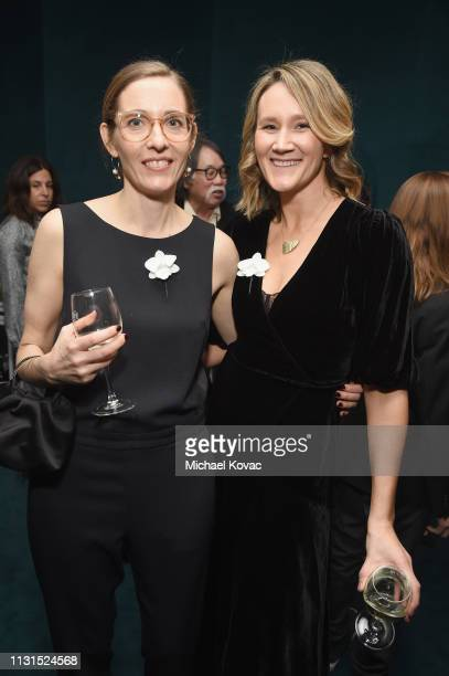 Fiona Crombie attends the 12th Annual Women in Film Oscar Nominees Party Presented by Max Mara with additional support from Chloe Wine Collection...