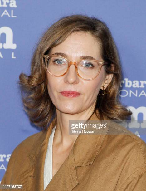 Fiona Crombie attends the 34th annual Santa Barbara International Film Festival Variety Artisans Awards Tribute at Lobero Theatre on February 04 2019...