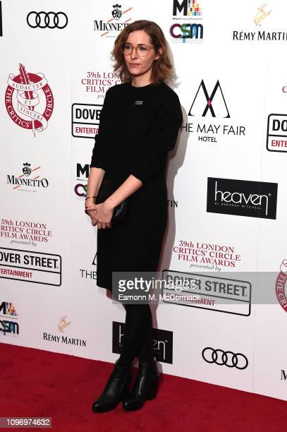 Fiona Crombie attends the 39th London Critics' Circle Choice Awards at The May Fair Hotel on January 20 2019 in London England