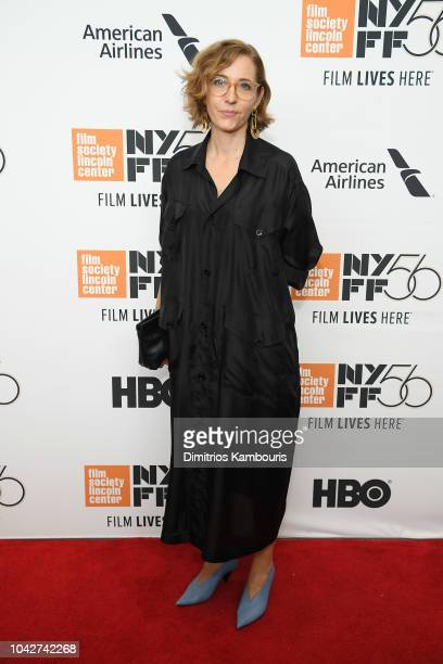Fiona Crombie attends the opening night premiere of The Favourite during the 56th New York Film Festival at Alice Tully Hall Lincoln Center on...