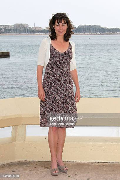 Fiona Dolman attends Midsomer Murders Photocall as part of MIP TV 2012 Hotel Majestic on April 2 2012 in Cannes France