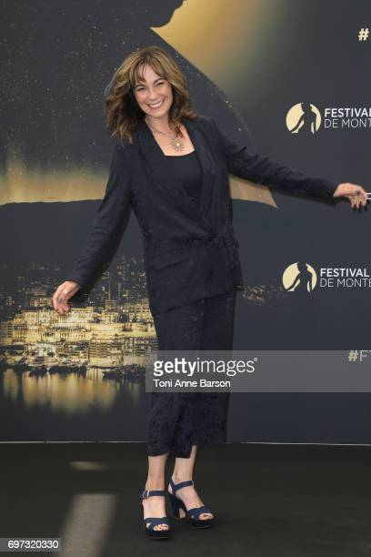 Fiona Dolman attends Midsomer Murders Photocall as part of the 57th Monte Carlo TV Festival at the Grimaldi Forum on June 18 2017 in MonteCarlo Monaco