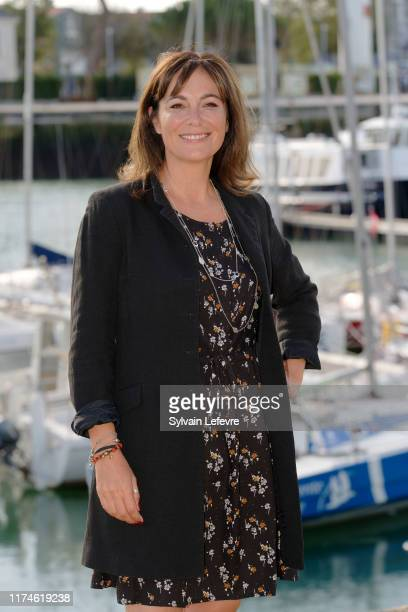 Fiona Dolman attends the 21th Festival of TV Fiction At La Rochelle Day Four on September 14 2019 in La Rochelle France