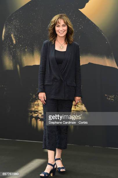 Fiona Dolman from 'Midsomer Murders' TV Show poses for a Photocall during the 57th Monte Carlo TV Festival : Day Three on June 18, 2017 in...