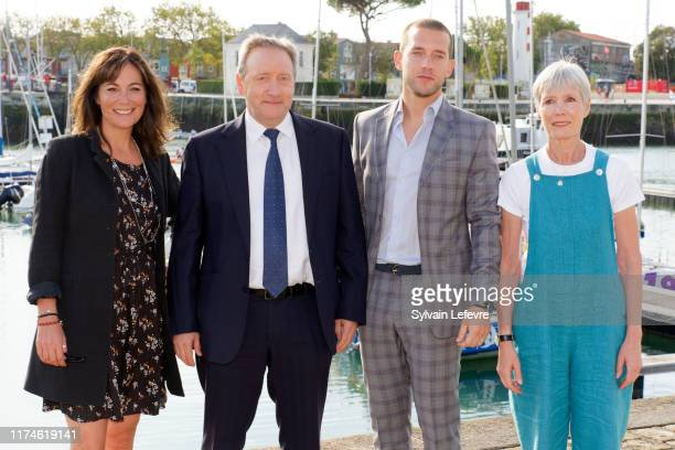 Fiona Dolman Neil Dudgeon Nick Hendrix and Jane Wymark attend the 21th Festival of TV Fiction At La Rochelle Day Four on September 14 2019 in La...