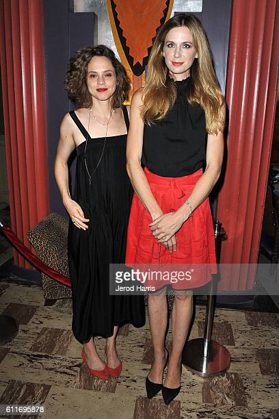 Fiona Dourif and Anne Dudek attend the 2016 Catalina Film Festival on September 30 2016 in Catalina Island California