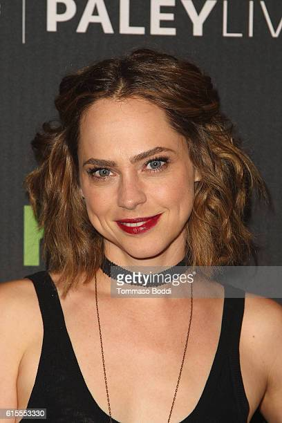 Fiona Dourif attends the PaleyLive LA Dirk Gently's Holistic Detective Agency premiere screening and conversation at The Paley Center for Media on...