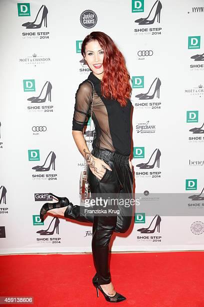 Fiona Erdmann attends the Deichmann Shoe Step of the Year 2014 on November 17 2014 in Hamburg Germany