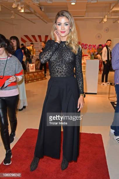 Fiona Erdmann attends the HashMAG Blogger Lounge during the Berlin Fashion Week Autumn/Winter 2019 on January 16 2019 in Berlin Germany