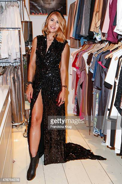 Fiona Erdmann attends the 'Lobby for a Weekend' Cocktail Prologne In Berlin on June 11 2015 in Berlin Germany