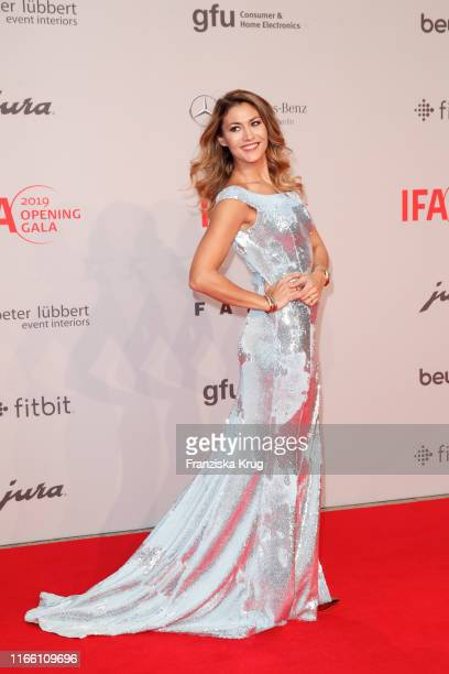 Fiona Erdmann during the IFA 2019 opening gala at Messe Berlin on September 5 2019 in Berlin Germany