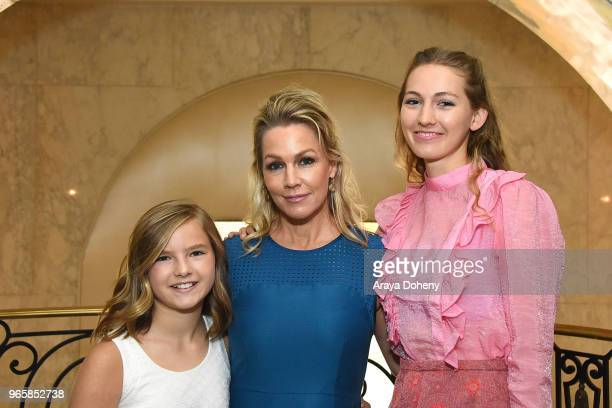 Fiona Eve Facinelli Jennie Garth and Lola Ray Facinelli attend Step Up's 14th Annual Inspiration Awards at the Beverly Wilshire Four Seasons Hotel on...