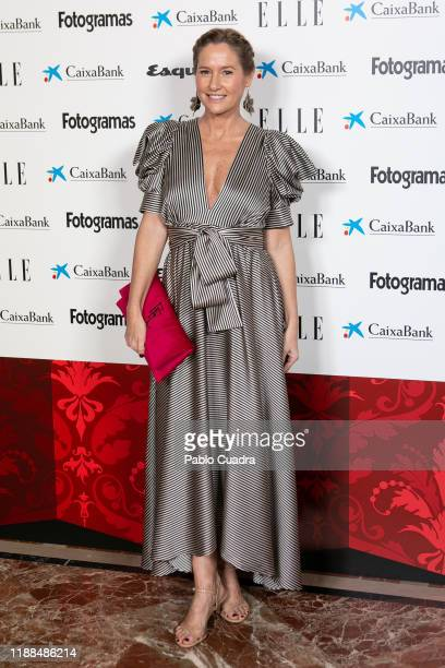Fiona Ferrer attends 'NocheConAlma' charity dinner on November 18, 2019 in Madrid, Spain.