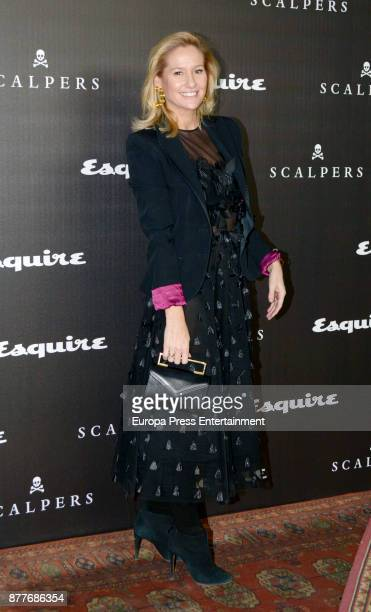 Fiona Ferrer attends the 10 Magnificent Fashion of the Decade Award by Esquire Scalpers at Santa Coloma Palace on November 22 2017 in Madrid Spain