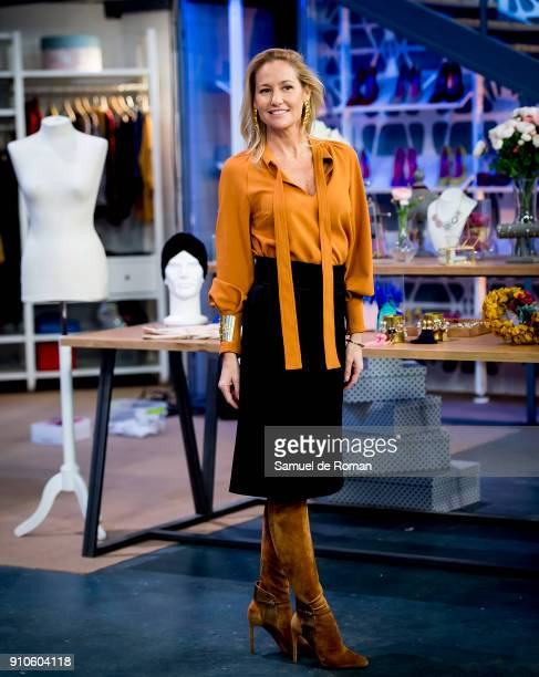 Fiona Ferrer attends the 'Cambiame' Tv Program Presentation on January 26 2018 in Madrid Spain