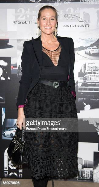 Fiona Ferrer attends the new Jaguar EPACE party on November 24 2017 in Madrid Spain