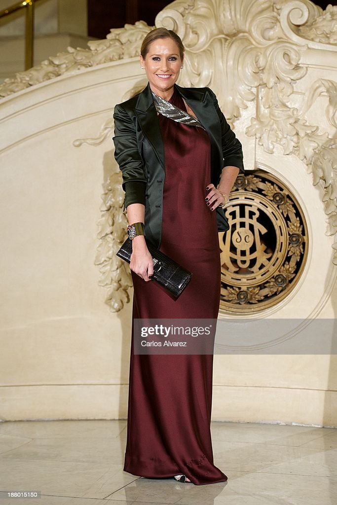 Fiona Ferrer attends the Ralph Lauren Dinner Charity Gala at the Casino de Madrid in on November 14, 2013 in Madrid, Spain.