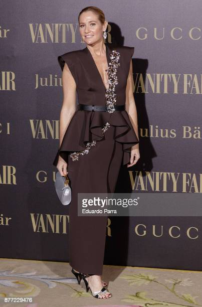 Fiona Ferrer attends the 'Vanity Fair Personality of the year' photocall at Ritz hotel on November 21 2017 in Madrid Spain