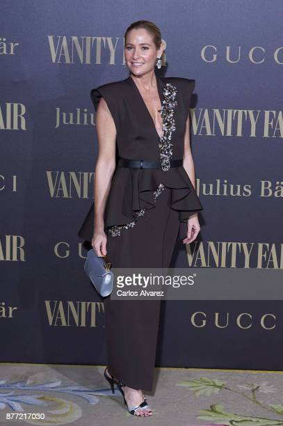Fiona Ferrer attends the Vanity Fair Personality of the Year party at the Ritz Hotel on November 21 2017 in Madrid Spain