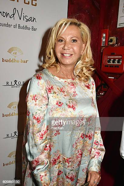 Fiona Gelin attends the Buddha Bar 20th Anniversary Party at Buddha Bar Club on September 22 2016 in Paris France