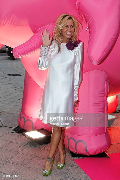 Fiona Gelin attends the IFRAD Gala Dinner To Fight Alzheimers at Opera Comique on September 21 2011 in Paris France