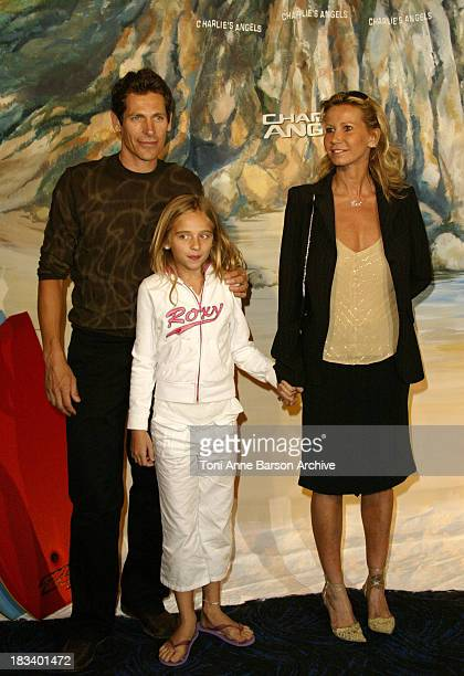 Fiona Gelin Family during Charlie's Angels Full Throttle Premiere Paris at UGC Normandy Champs Elysees in Paris France